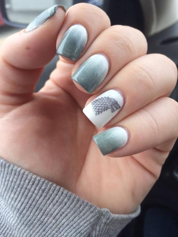Friday Fan Art: Geeky Nail Art – The Movie/Geek Girl