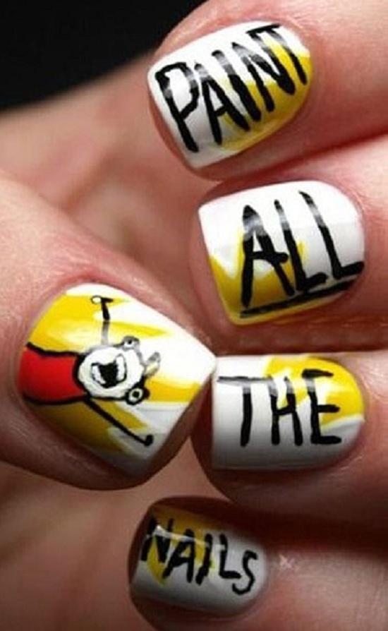 Friday Fan Art Geeky Nail Art The Moviegeek Girl